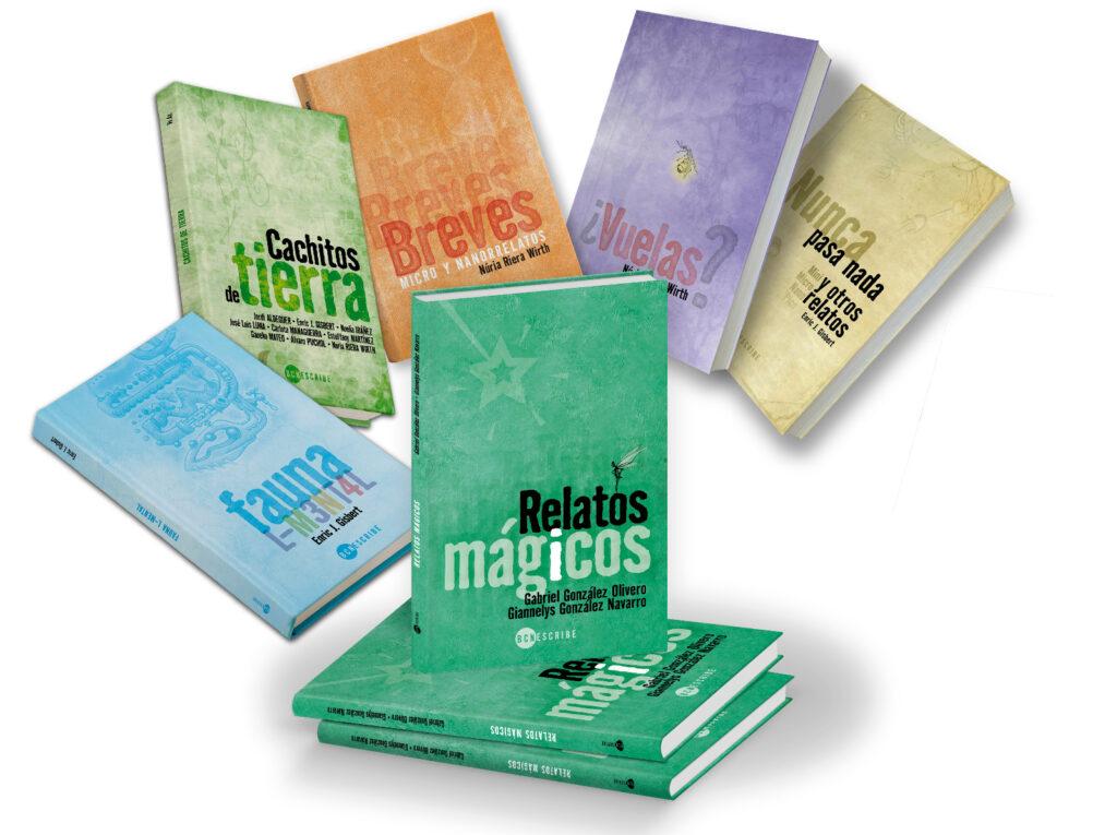 Colección de libros de BCNEscribe